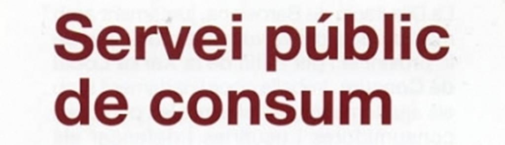 Servei Públic de Consum
