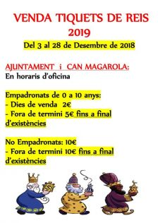 Cartell Tiquets