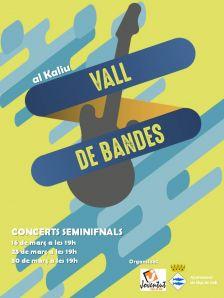 Cartell semifinals Vall de Bandes